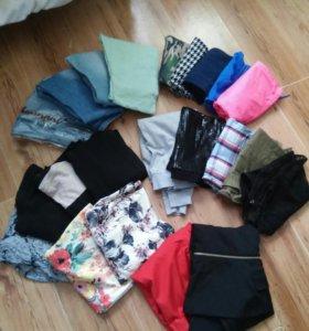 Огромный пакет одежды