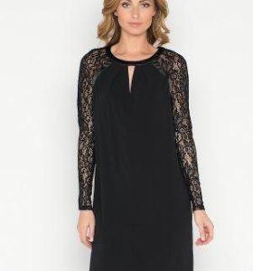 Платье Pompa 2137510ar0299 черный, новое