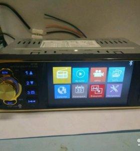 Автомагнитола 1 DIN с дисплеем, новая