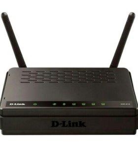Wi-fi роутер D-Link DIR-615