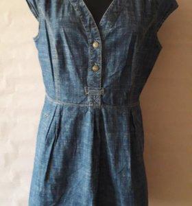 NEXT джинсовое платье р.50-52