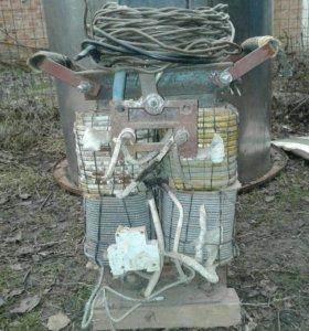Сварка в рабочем состоянии, от сети 220 в