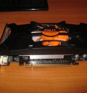 Видеокарта GTX 550 TI