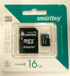 Smartbuy флешка microSD оригинальная