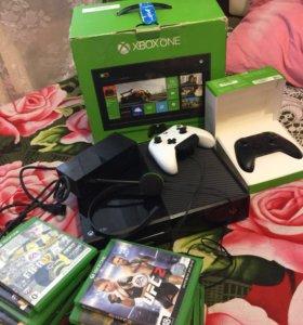 Xbox one 500gb, 12 дисков