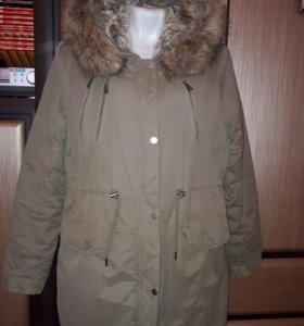 Куртка - Парка хаки 46-48 рр 1000 руб