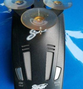 Продаю антирадар Stinger S430.