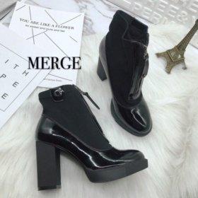 Новые осенние модные удобные туфли. 36 37 40