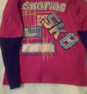 Кофты, рубашки, 5-6 лет. для мальчика