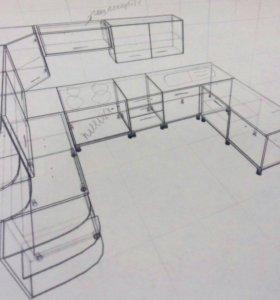 Корпусная мебель по вашим размерам