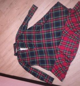 Платье,новое. Р48-52. Для беременных можно