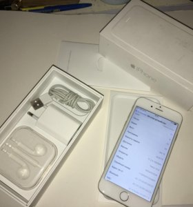 Iphone 6 silver 64gb б/у