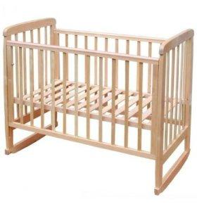 Продам детскую кроватку-качалку.