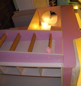 кровать детскую 2-х этажная