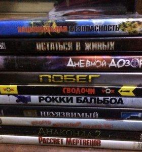Фильмы на DVD.30 дисков.