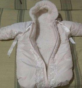 Конверт на новорожденного