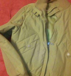 Куртка TIGER FORCE на синтепоне горчичн цвт46*48р