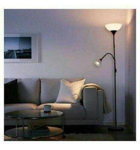Торшер/лампа для чтения НУТ (ikea)