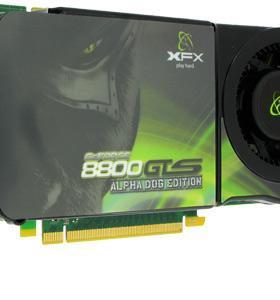 Видеокарта GeForce 8800GTS 512Mb DDR3