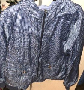 Куртка, Ветровка, толстовка  двухсторонняя