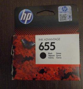 Картридж HP 655 Black