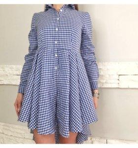 Новое платье - рубашка с биркой