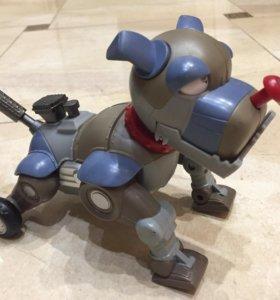 Собака робот на батарейках фирменная