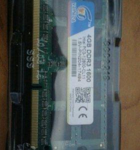 2 планки по 4G DDR3