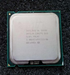 Intel Core 2 Duo E8400 на 775 Socket,