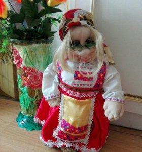 Кукла-оберег из синтепона