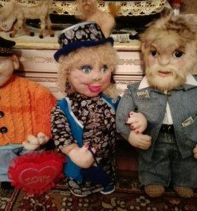 Куклы каркасные из синтепона