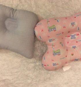 Набор из 2-х ортопедических подушек для новорожден