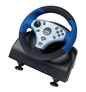 Руль для компьютера Dialog Форсаж GW-12VR