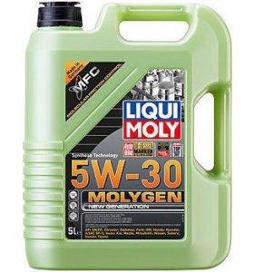 9043 моторное масло Molygen New Generation 5W-30
