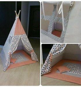 Вигвам,детская палатка,домик для детей