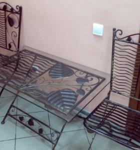 Набор кованной мебели