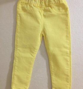Тонкие джинсики на девочку