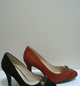 Туфли женские(натуральная замша)