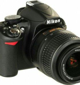 Полупроф фотоаппарат Nikon D3100