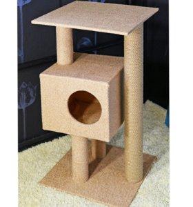 Изготовление домиков для кошек, будок, не дорого
