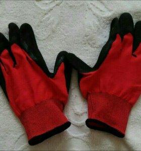 Перчатки нейлоновые с полиуритановым покрытием
