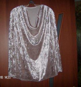 Красивая новая блузка на о.груди 120 см