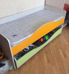 Кровать детская 160 см на 70 см