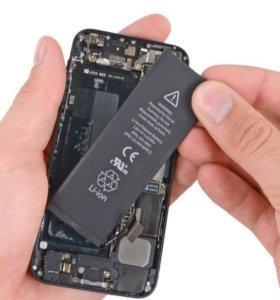 Аккумулятор на iPhone 4s/5/5s/6/6s
