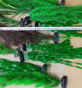 Искуственные растения декор для аквариума
