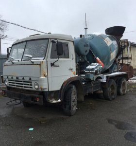 Автобетононасос Камаз 581411