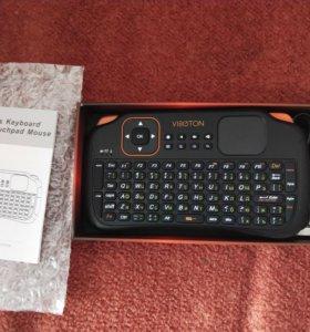 Viboton S1. Беспроводная клавиатура с тачпадом