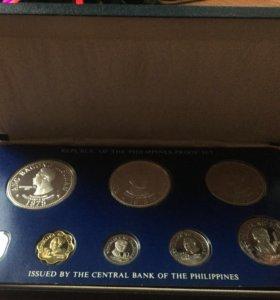 Коллекционный набор монет Филиппины