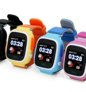 Детские часы q90 (q80) с GPS