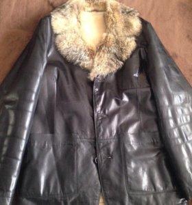 Натуральная коженая куртка